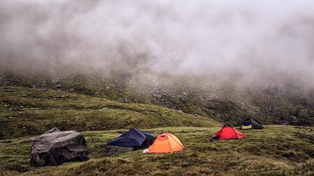 過酷なノルウェーのキャンプ