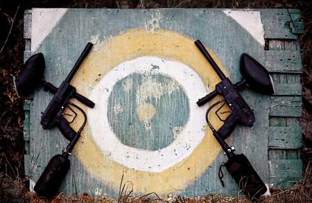 Target and paintball markers Zdjęcie Seryjne