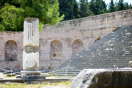 aesculapius: Ruinas históricas de Asclepieion en la isla de Kos