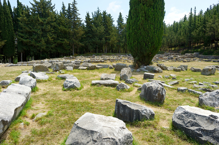 hippocrates: Historical ruins of Asclepieion on Kos island