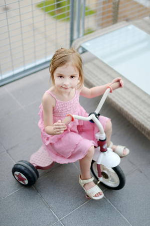 big girl: Big girl on a small bike