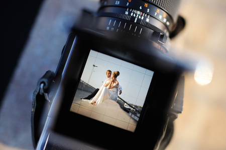 photographers: Shooting a wedding with a vintage oldschool camera
