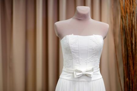 mannequins: Beautiful wedding dresses on a mannequins