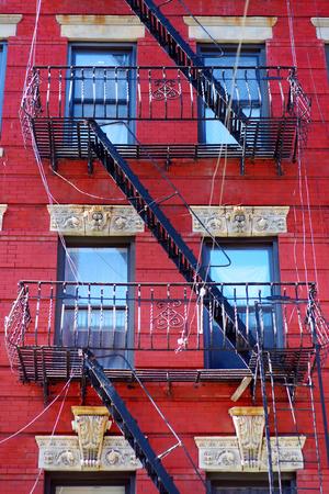 tenement: Tenement in Little Italy, New York