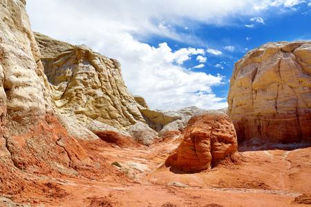 Hoodoo and Paria Rimrocks in the Vermillion Cliffs, Utah, USA