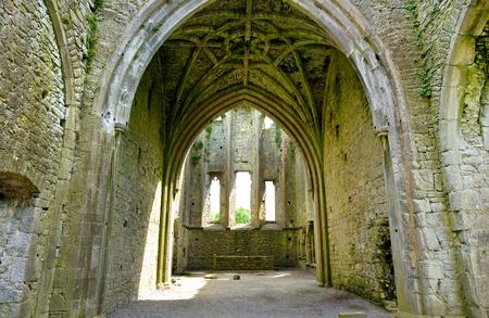 Hore Abbey, ruined Cistercian monastery near the Rock of Cashel, County Tipperary, Ireland