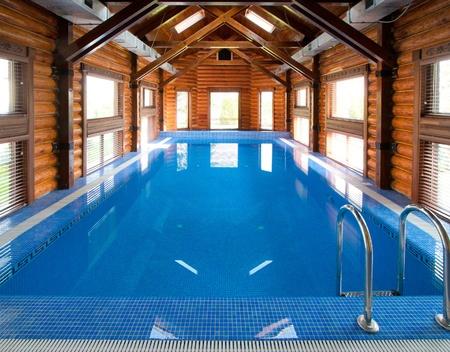 Indoor swimming pool Stock Photo - 10543141