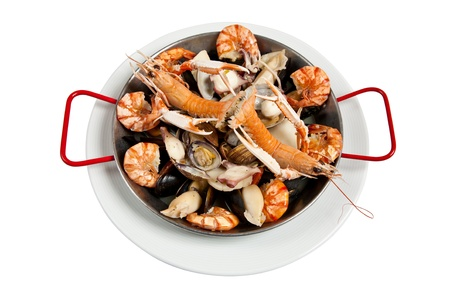 sours: Seafood, isolated on white