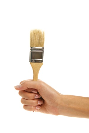 paintbucket: Brush in hand