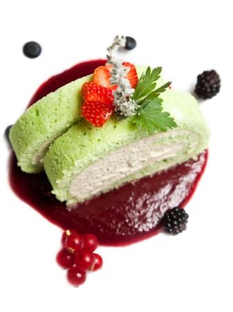 Fruit Cake Dessert  photo