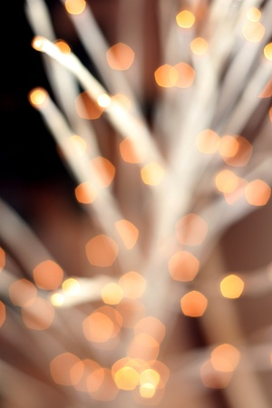 defocus: Xmas defocus lights  Stock Photo