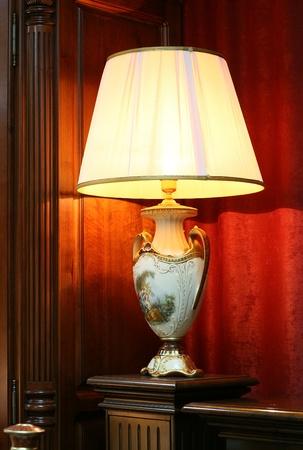 retro lamp photo