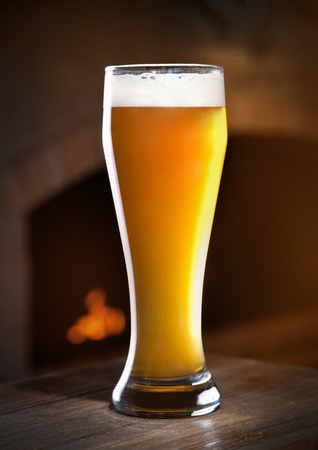 quencher: Wheat beer Stock Photo