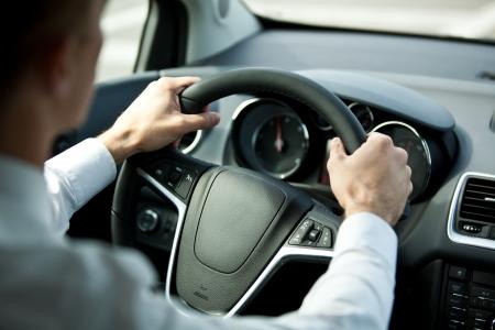 Guidare una macchina