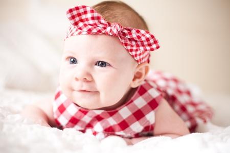 baby girl pink: Beautiful baby girl