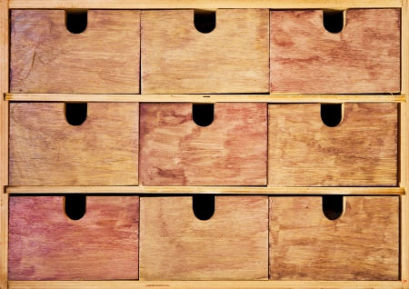 Vintage wooden drawer Stock Photo - 15258593