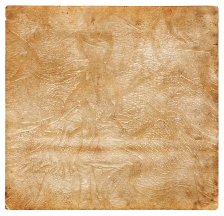 beige backgrounds: Old crumpled leather