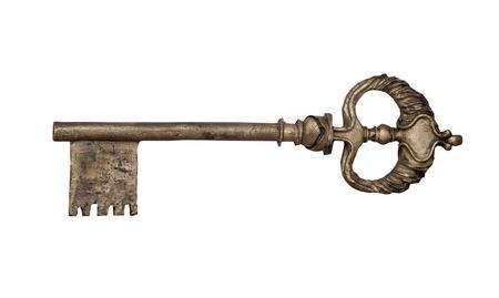 Old key Stock Photo - 17181360