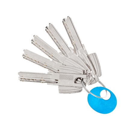 Door keys isolated on white background Stock Photo - 17720625