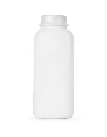 Blank bottle isolated on white Stock Photo - 17948122