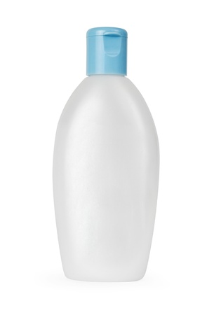 Blank bottle isolated on white Stock Photo - 17948135