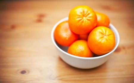 mandarins: Bowl of fresh mandarins