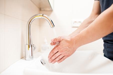 manos limpias: Lavarse las manos