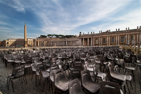 peters: St. Peters square, Vatican
