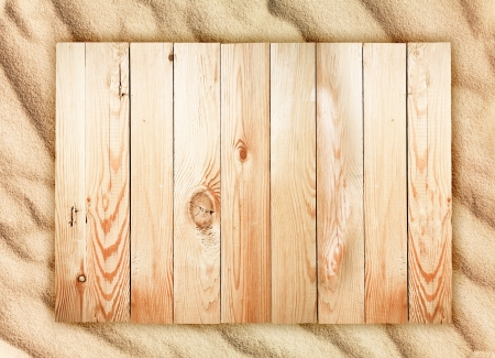Wood background and sand texture. Wave of the blow of the wind.  photo
