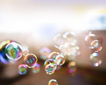 burbujas de jabon: Las burbujas de jabón, resumen de antecedentes