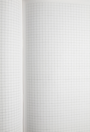 Blank squared notebook sheet  photo