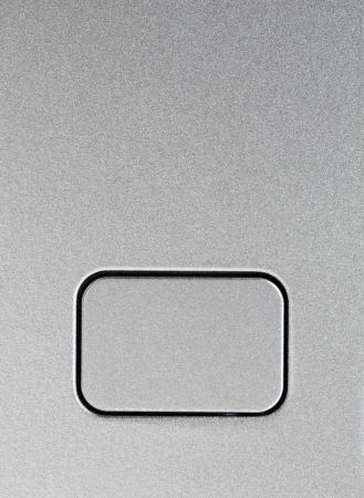 Empty Silver push button close-up Stock Photo - 21045163