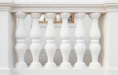 Balustrade Pillars, close-up foto