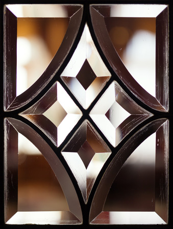 stain glass: Vintage stain glass window