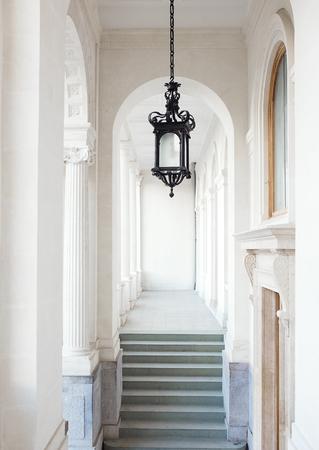portico: Vorontsov Palace, walkway under portico