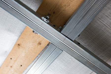 ceiling: Suspended ceiling structure