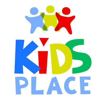 frenzy: Kids Place  Template. illustration. Illustration