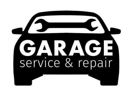 auto center garage service and repair logo vector template royalty rh 123rf com vehicle repair log spreadsheet vehicle repair log sheet