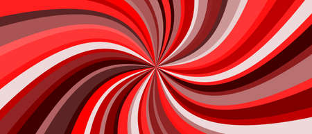 Color Swirling radial vortex vector background