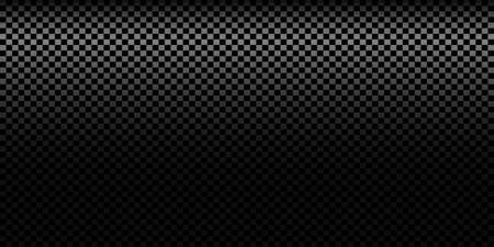 Dark black Geometric grid background. Modern dark abstract vector texture. Vettoriali