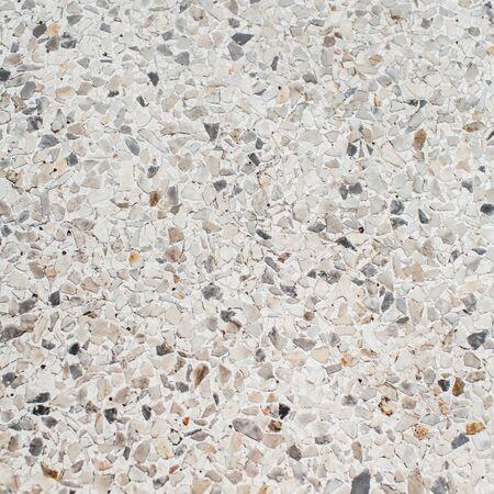 Schöner Mosaikboden. Abstrakter Hintergrund der neutralen Beschaffenheit. Perfektes Muster. Standard-Bild