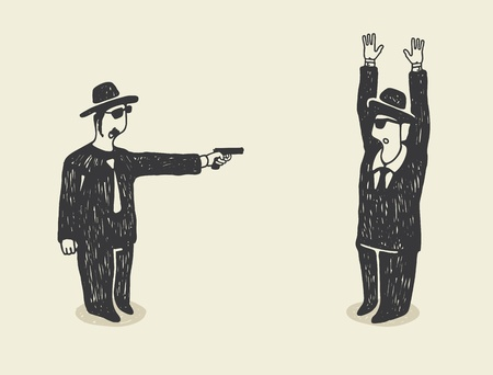 homicide: The Terror Illustration