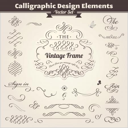 flourishes: Calligraphic Design Elements