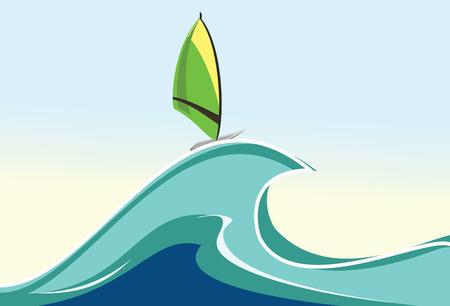windsurf: Ilustraci�n de windsurf