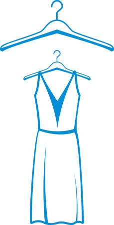 hangers: dress