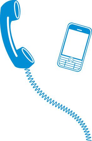 modernity: phone Illustration