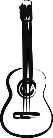 gitara: gitara  Ilustracja