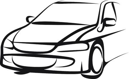 touring car: car Illustration