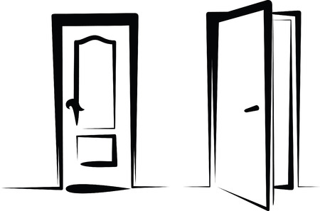 porta aperta: porte