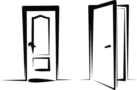 fermer la porte: portes